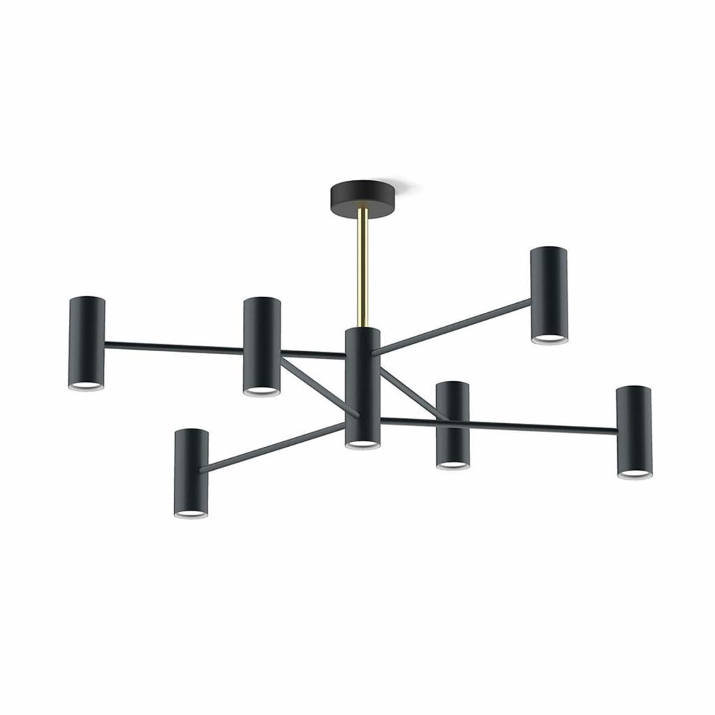 Produktové foto MODO LUCE Modo Luce Chandelier stropní světlo 13 100cm černá