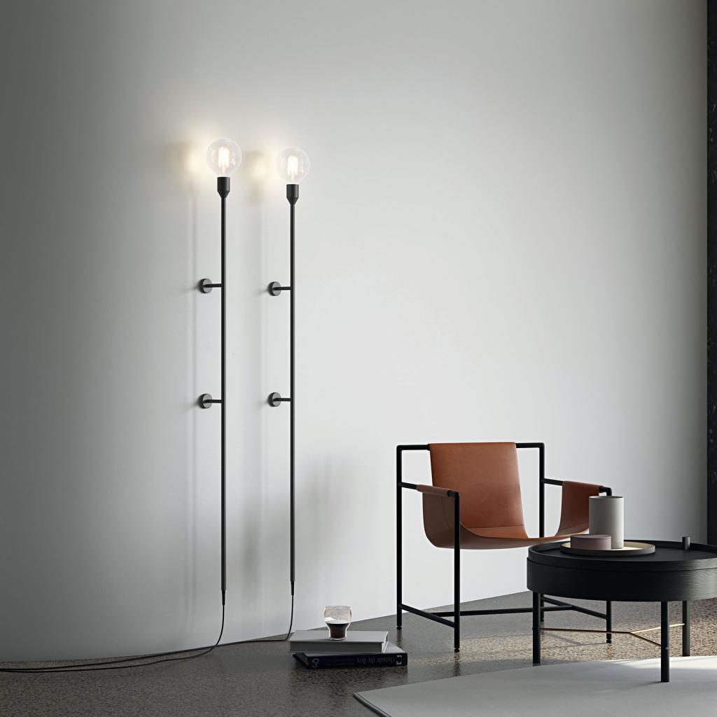 Produktové foto MODO LUCE Modo Luce Geco nástěnné světlo 155cm černá