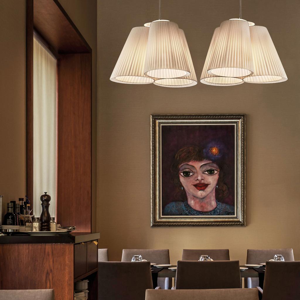 Produktové foto MODO LUCE Modo Luce Florinda závěsné světlo, 3 slonovina