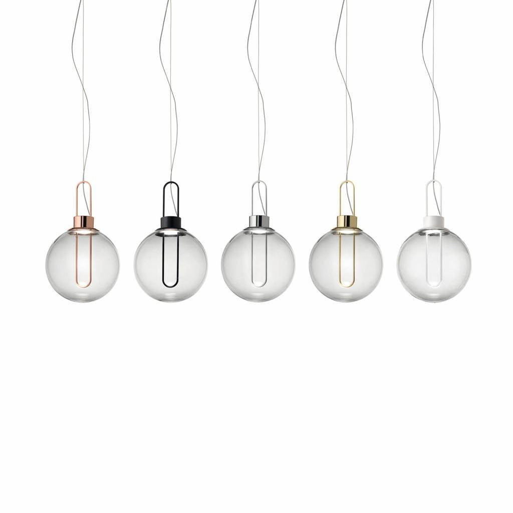Produktové foto MODO LUCE Modo Luce Orb LED závěsné světlo, mosaz, Ø 25 cm
