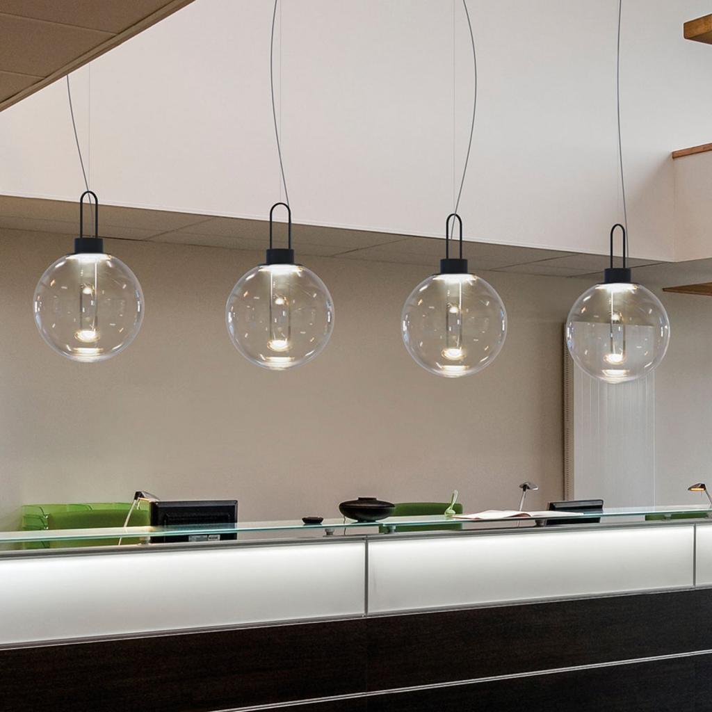 Produktové foto MODO LUCE Modo Luce Orb LED závěsné světlo, černá, Ø 40 cm