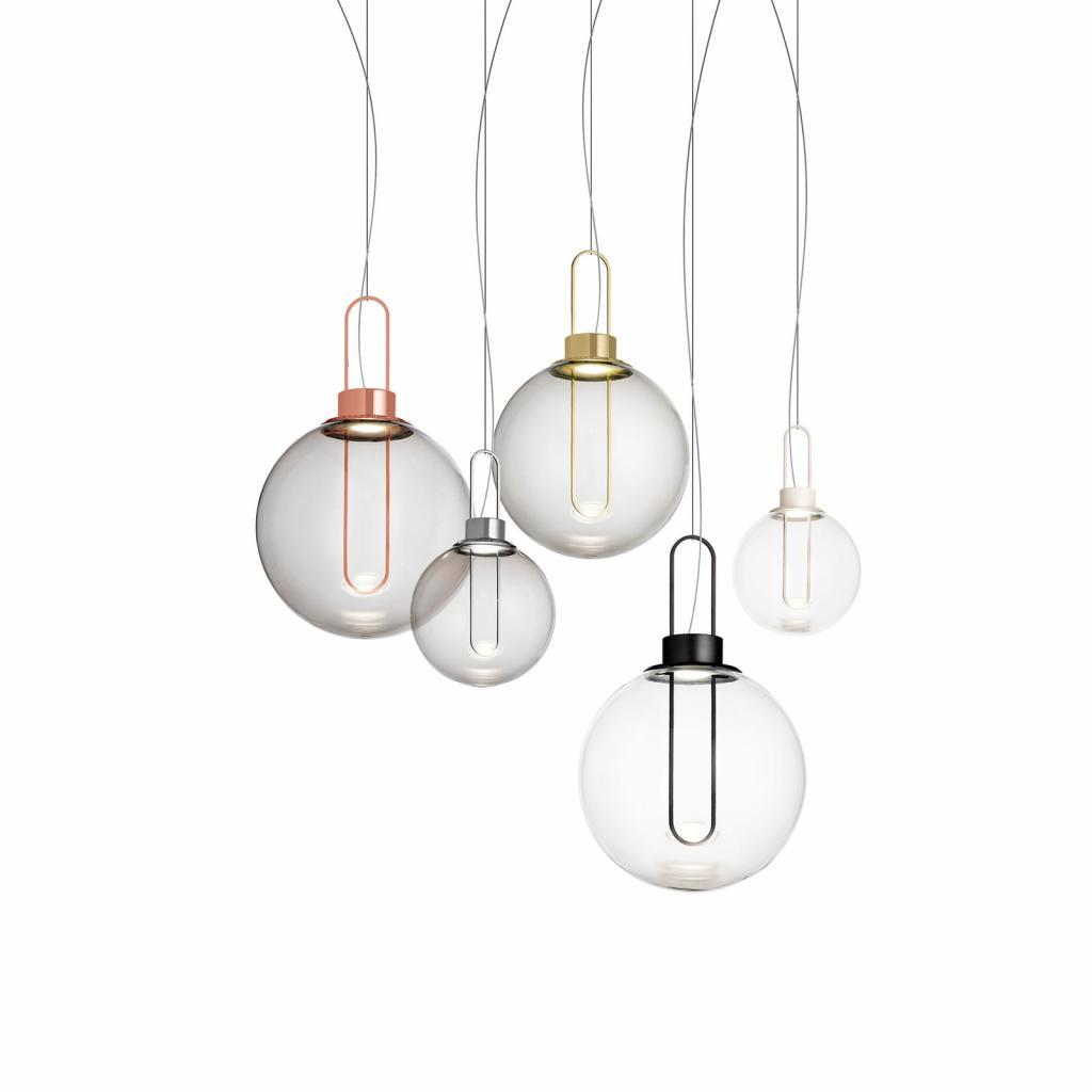 Produktové foto MODO LUCE Modo Luce Orb LED závěsné světlo, měď, Ø 40 cm