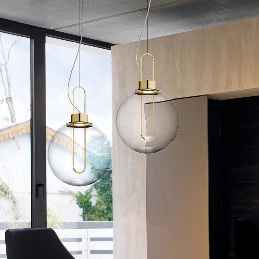 Produktové foto MODO LUCE Modo Luce Orb LED závěsné světlo, mosaz, Ø 40 cm