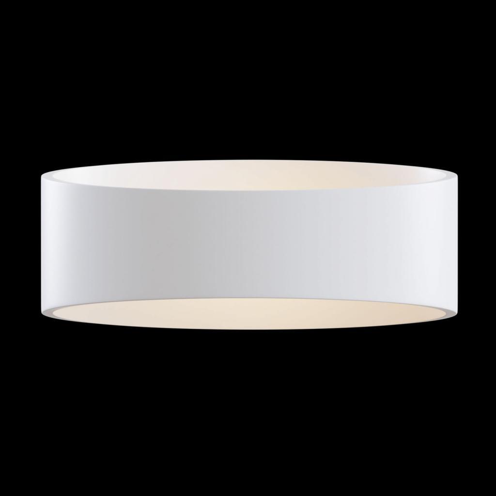 Produktové foto Maytoni LED nástěnné světlo Trame, oválný tvar v bílé