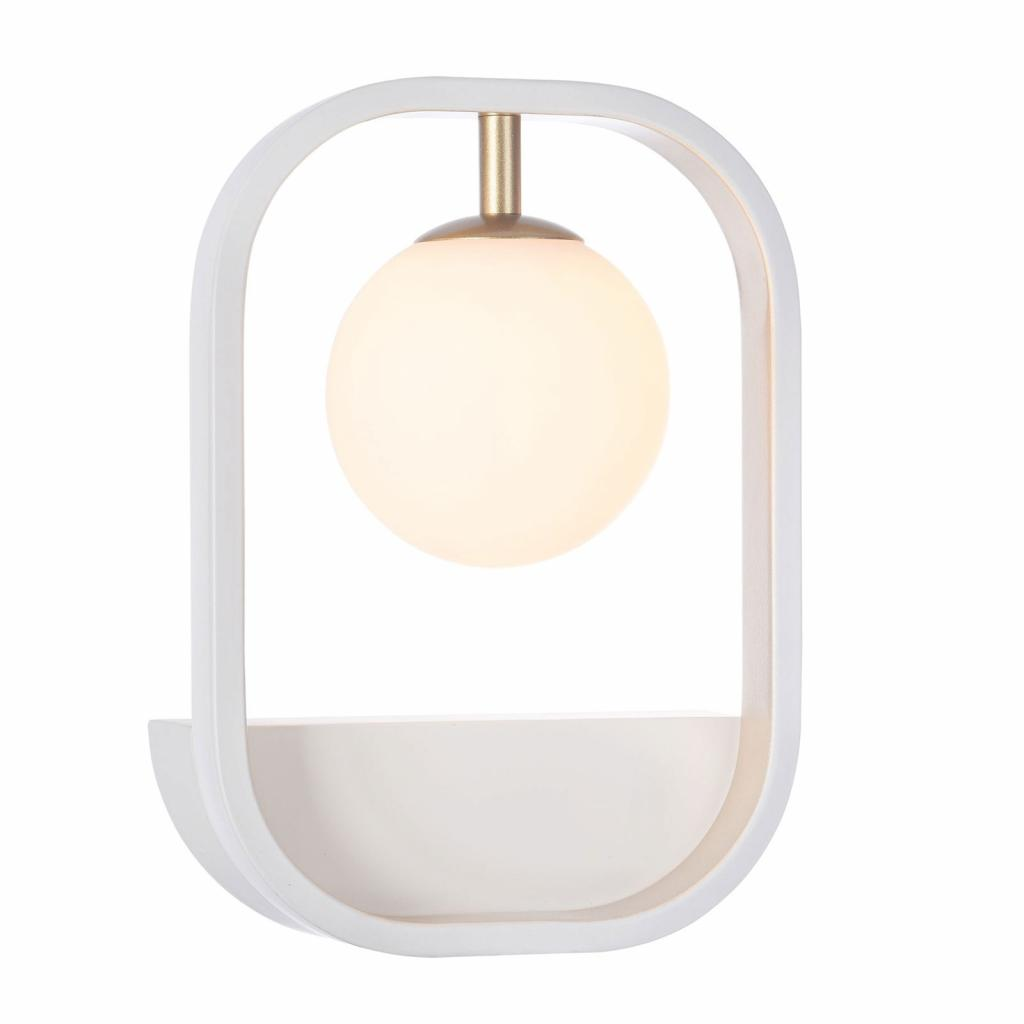 Produktové foto Maytoni Nástěnné světlo Avola se skleněnou koulí