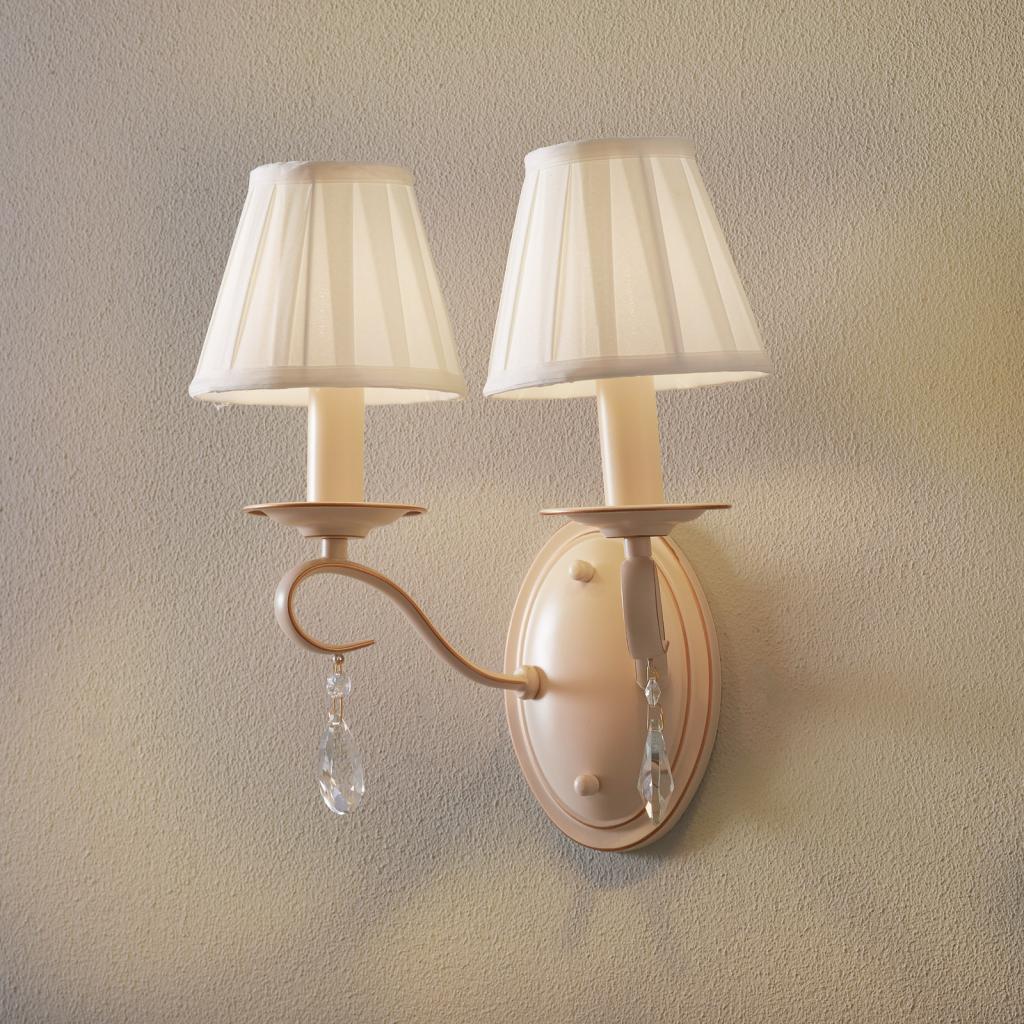 Produktové foto Maytoni Nástěnné světlo Brionia se satinovanými stínidly