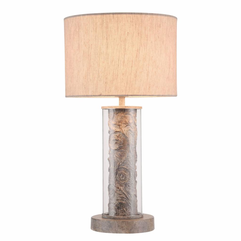 Produktové foto Maytoni Stolní lampa Maryland s lněným stínidlem