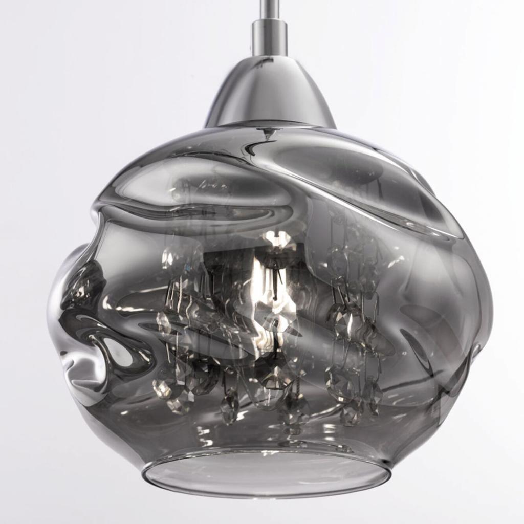 Produktové foto Maytoni Závěsné světlo Haze, tři zdroje, skleněná stínidla