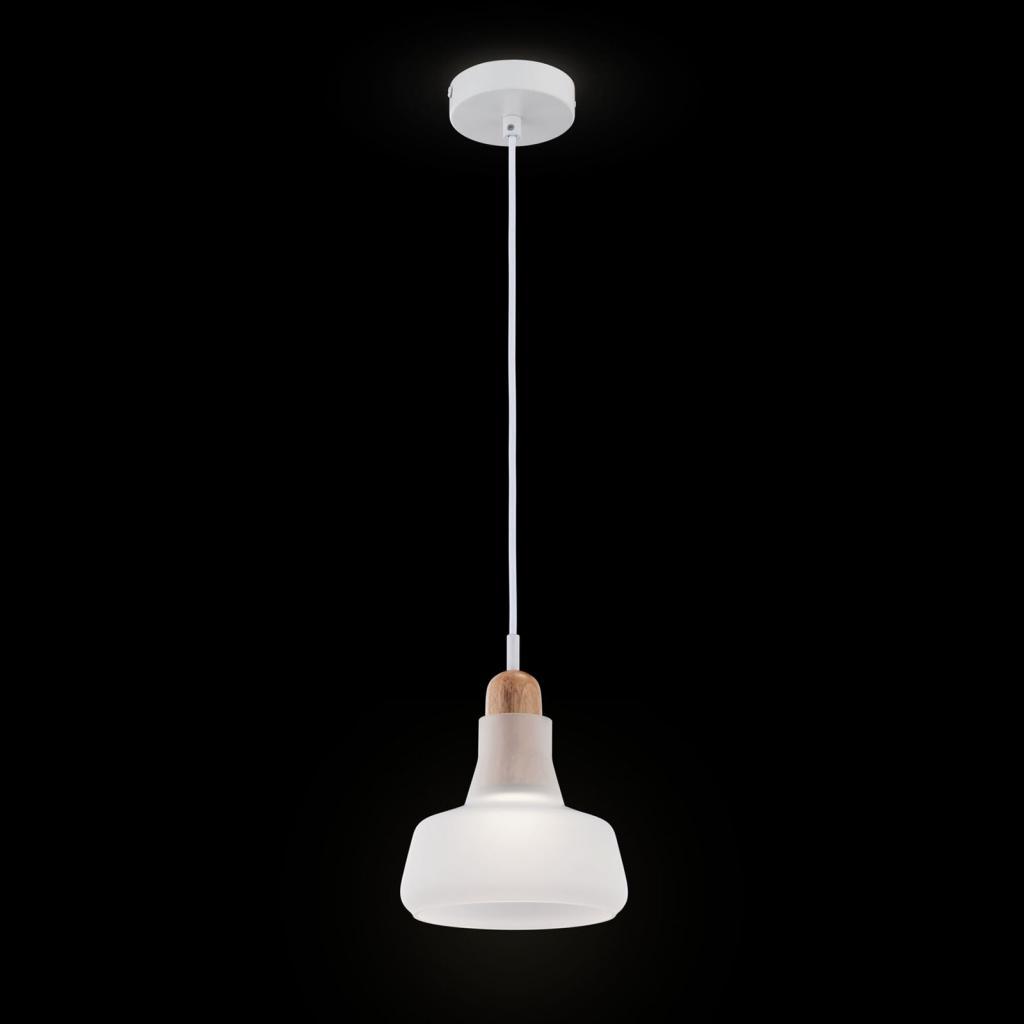 Produktové foto Maytoni Závěsné světlo Ola skleněné stínidlo Ø 15cm, bílá