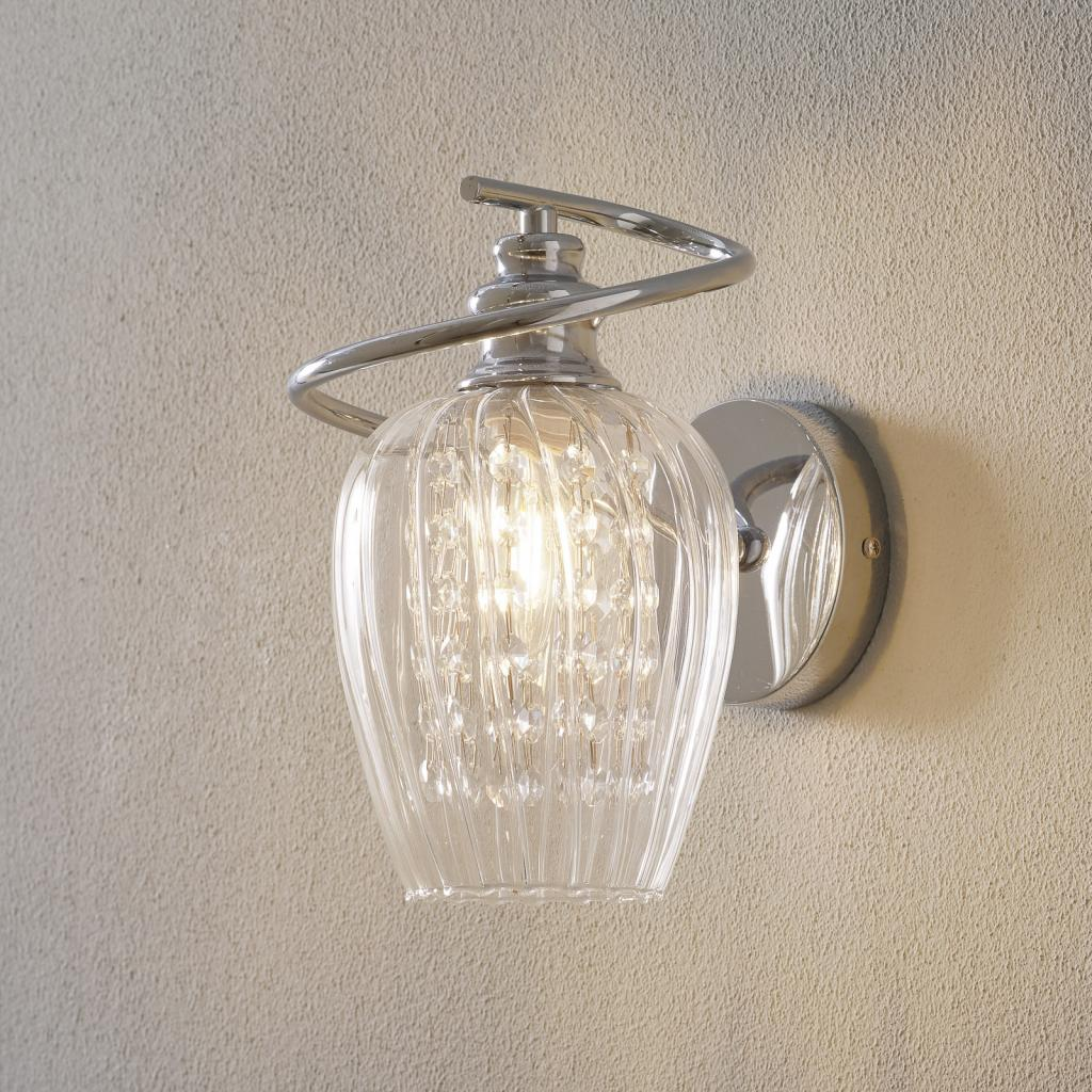 Produktové foto Maytoni Nástěnné světlo Blues, sklo průhledné