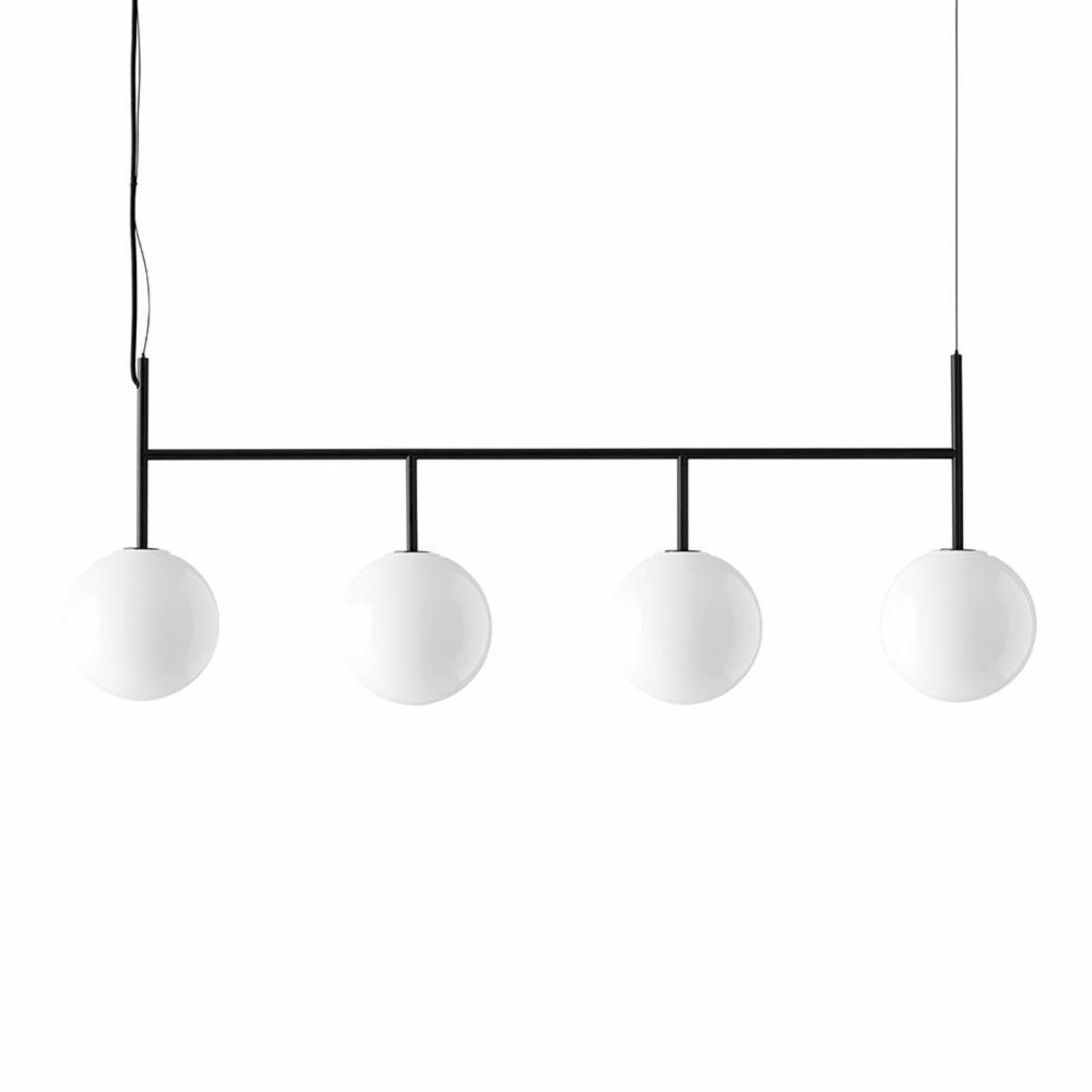 Produktové foto MENU Menu TR Bulb LED závěs 4zdroje černá/opálová lesk