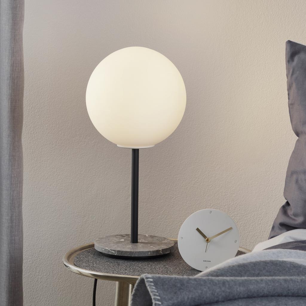Produktové foto MENU Menu TR Bulb stolní lampa 41cm mramor/opálová mat