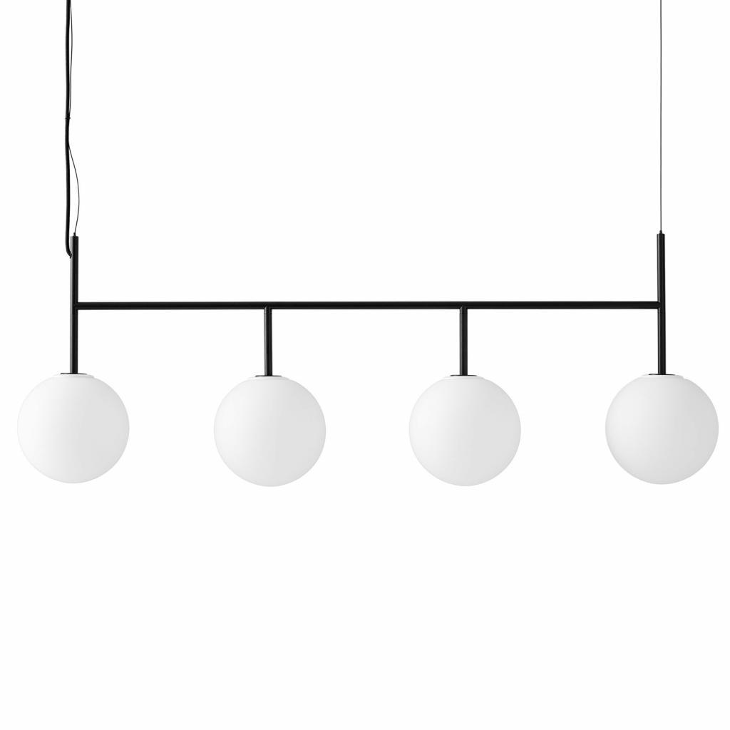 Produktové foto MENU Menu TR Bulb DTW LED závěs 4zdroje černá/opál mat