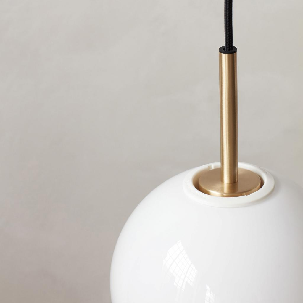 Produktové foto MENU Menu TR Bulb DTW LED závěs 1zdroj mosaz/opál lesk