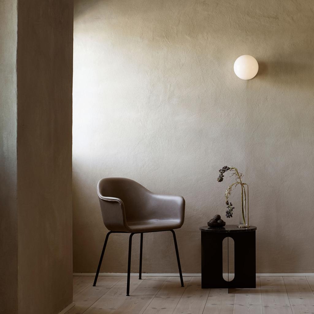 Produktové foto MENU Menu TR Bulb LED stropní světlo černá/opál lesk