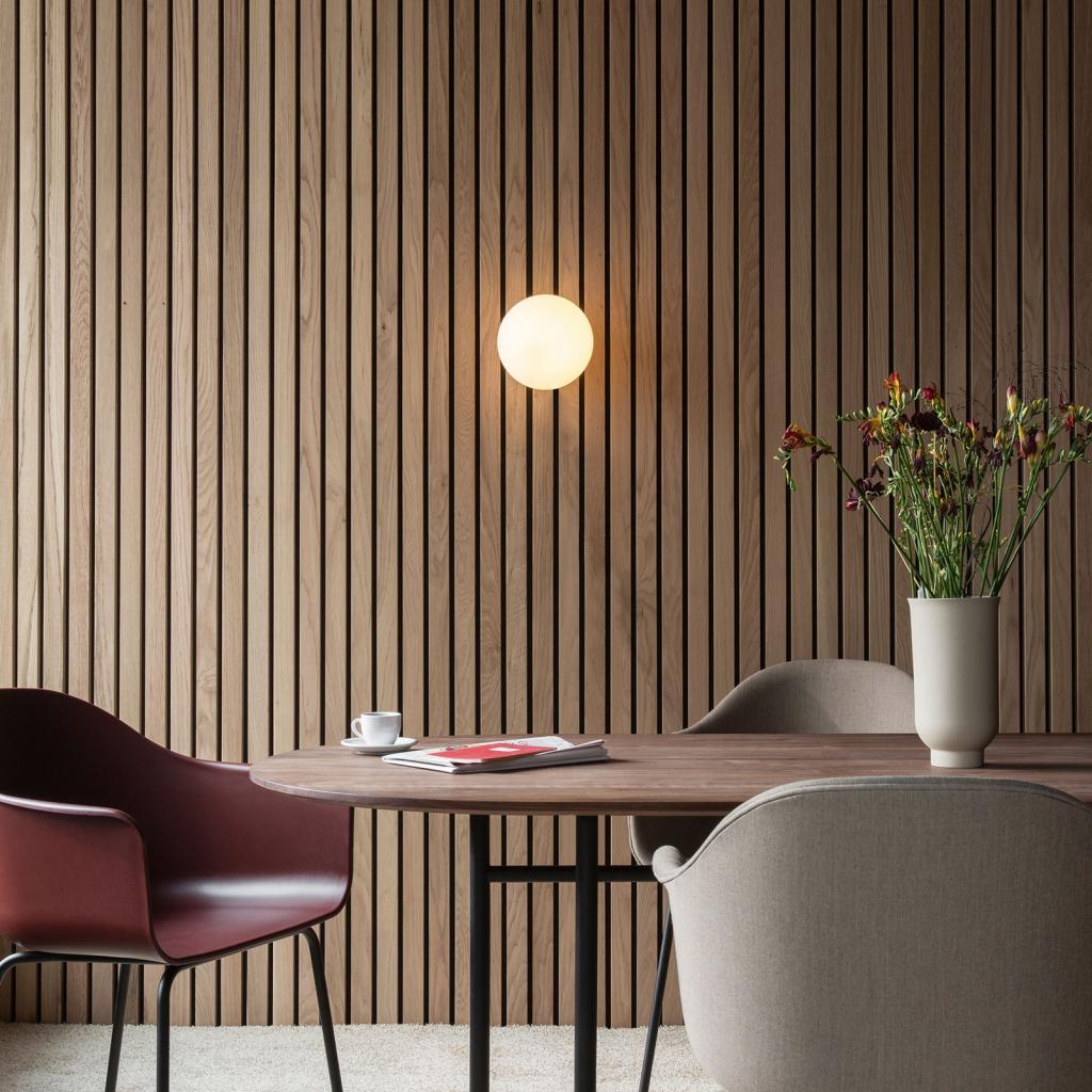 Produktové foto MENU Menu TR Bulb LED stropní světlo černá/opál mat