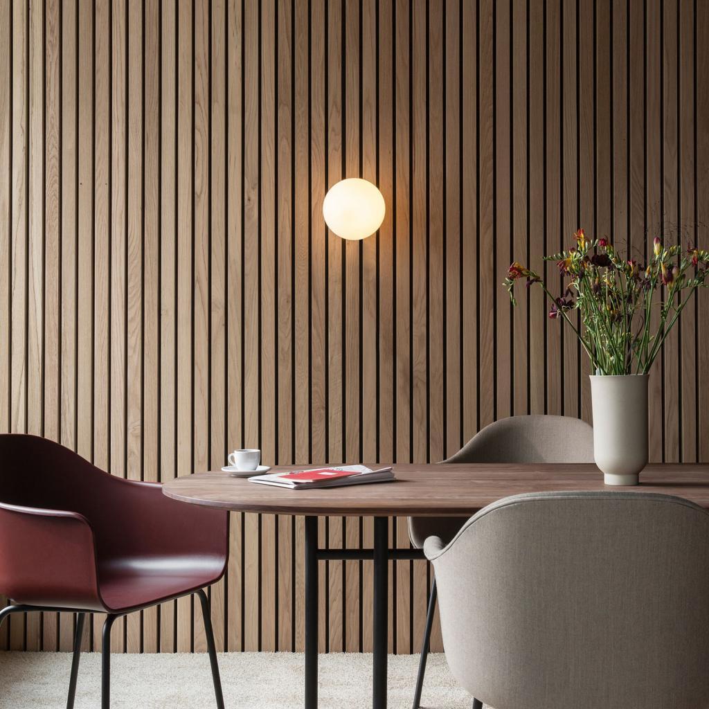 Produktové foto MENU Menu TR Bulb LED stropní světlo mosaz/opál mat