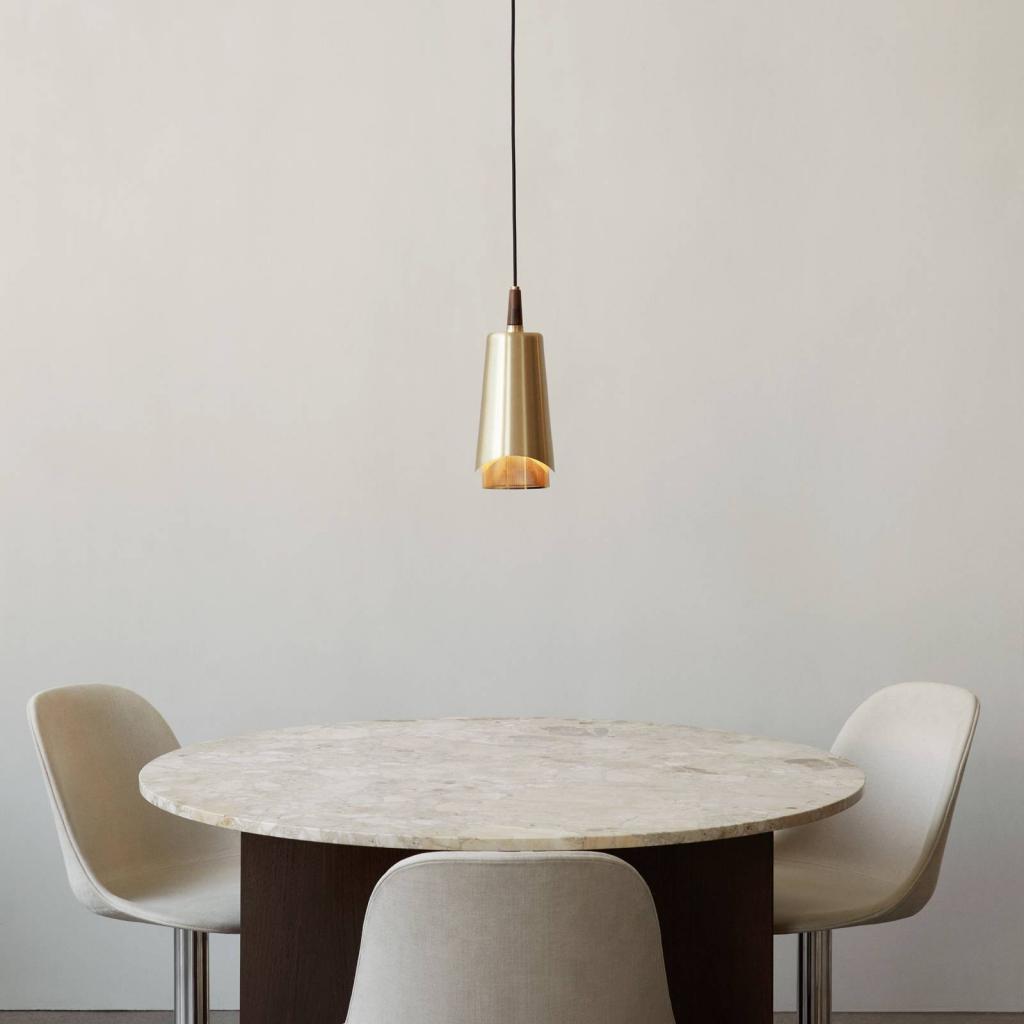 Produktové foto MENU Menu Umanoff závěsné světlo, mosaz a ořech