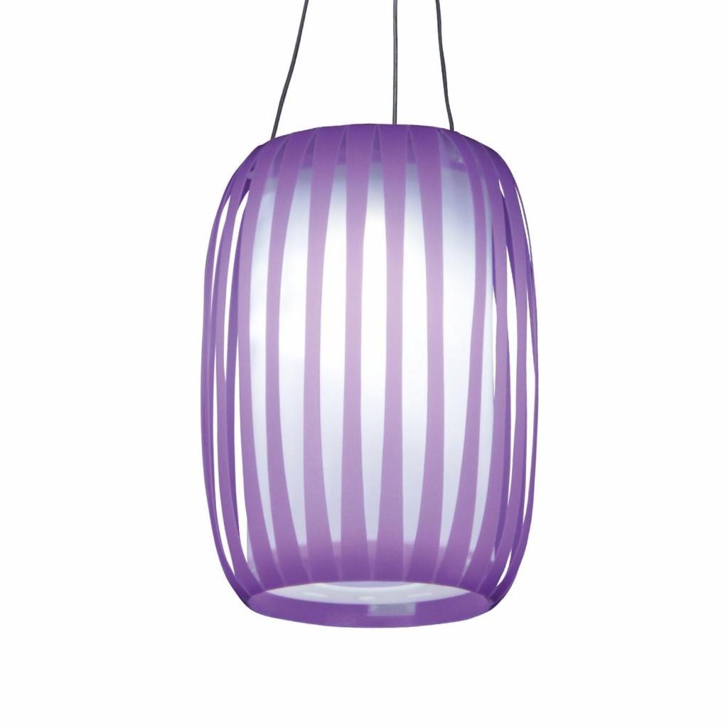 Produktové foto Näve LED Solární světlo Lilja ve tvaru lampionu, lila