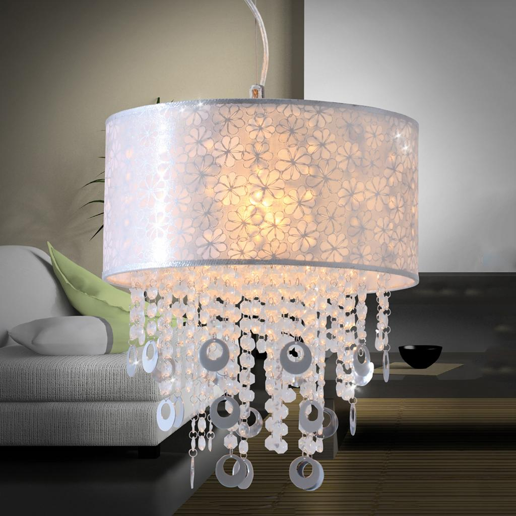 Produktové foto Näve Textilní závěsné světlo Niclas