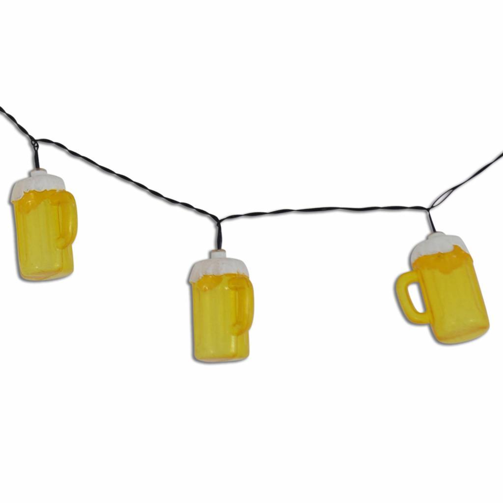 Produktové foto Näve Světelný řetěz Cerveza s pivními džbánky