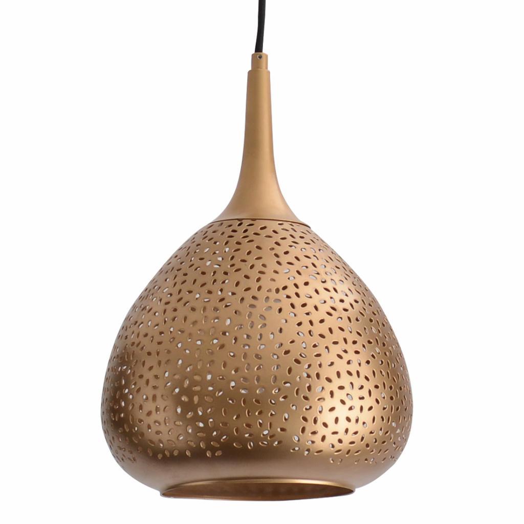 Produktové foto Näve Zlatě zbarvené závěsné světlo Chiara