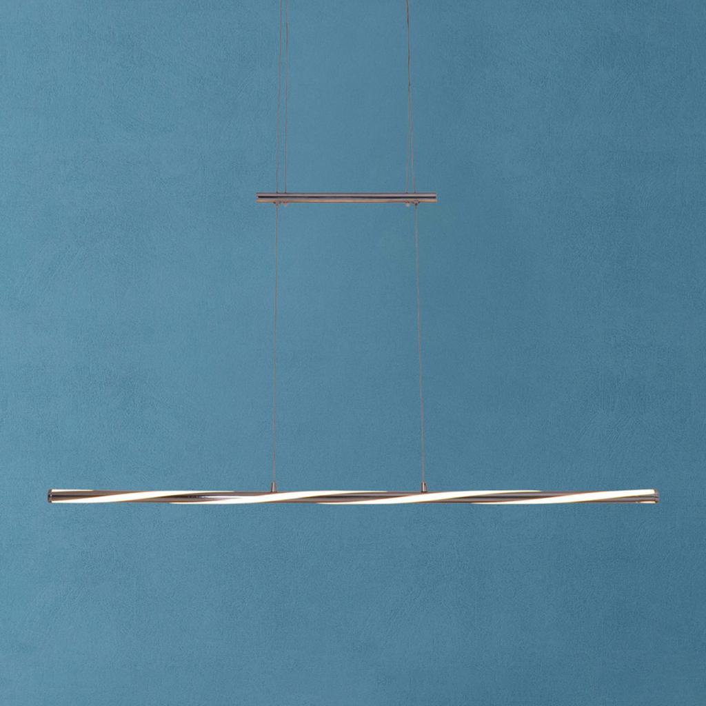 Produktové foto Näve Závěsné světlo Swirl, nastavitelná výška, stmívač