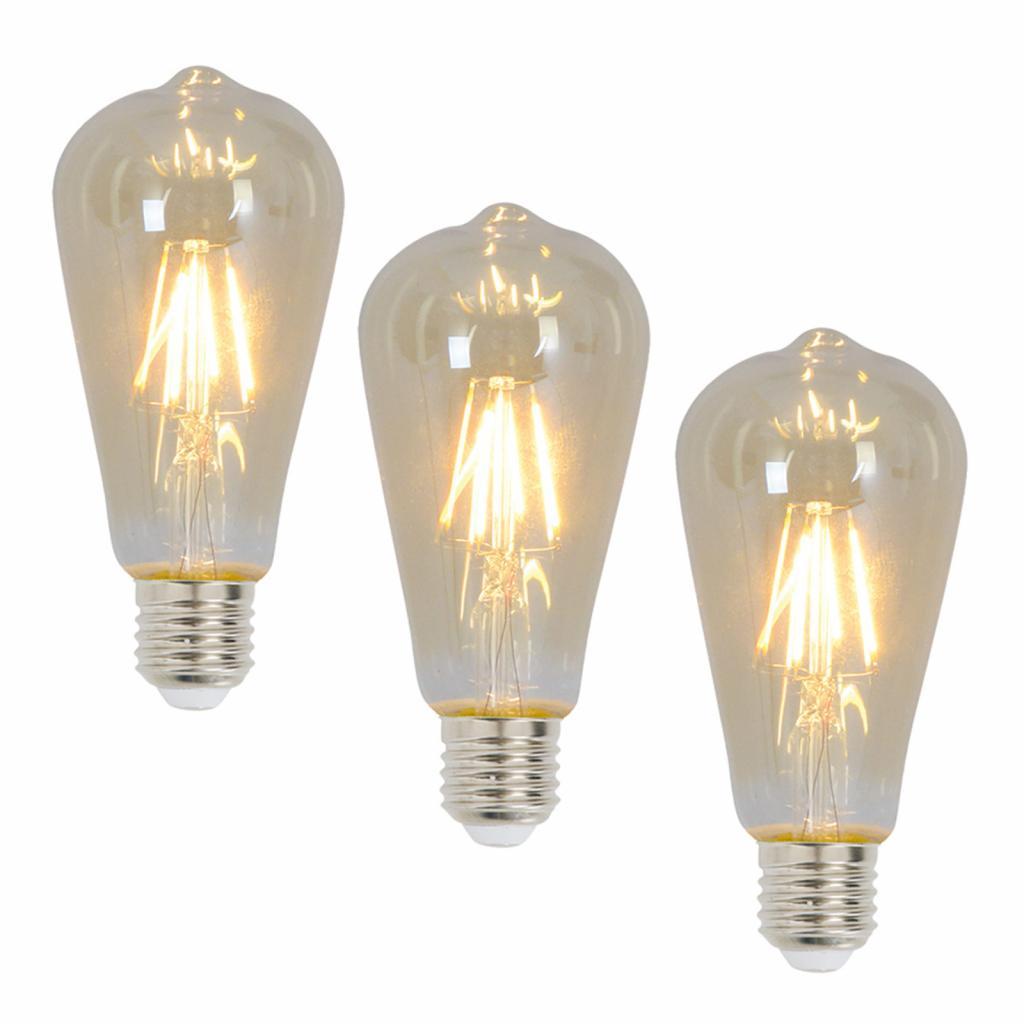 Produktové foto Näve E27 LED žárovka 4 Watt 300 Lumen 3ks 2200 K