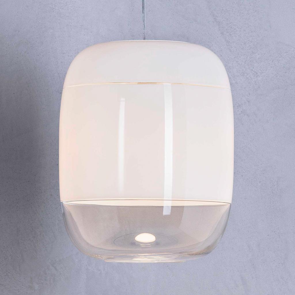 Produktové foto PRANDINA Prandina Gong S3 závěsné světlo, bílé