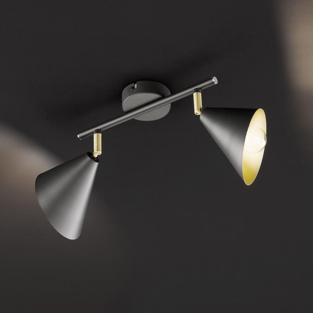 Produktové foto Wofi Stropní světlo Gloria, nastavitelné, dva zdroje