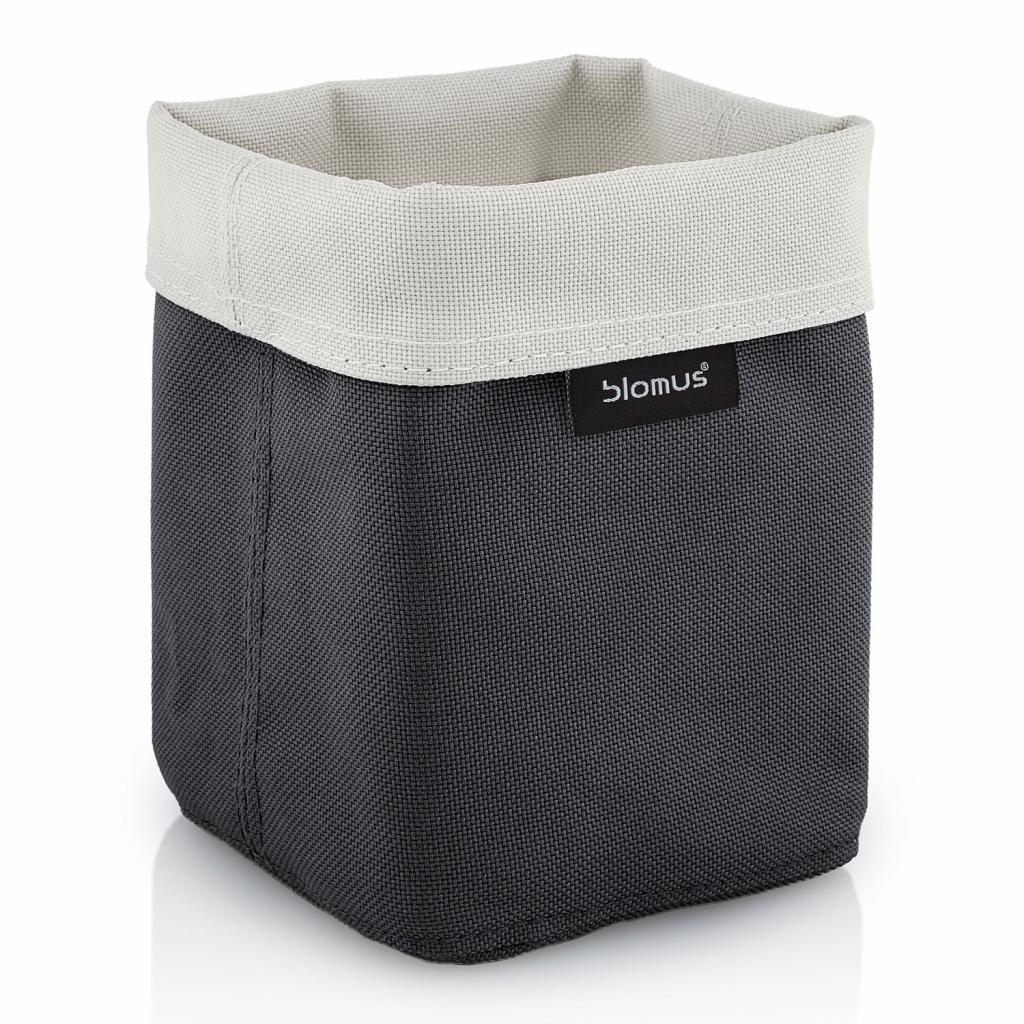 Produktové foto Oboustranný košík na kosmetické potřeby ARA malý pískový/antracitový Blomus