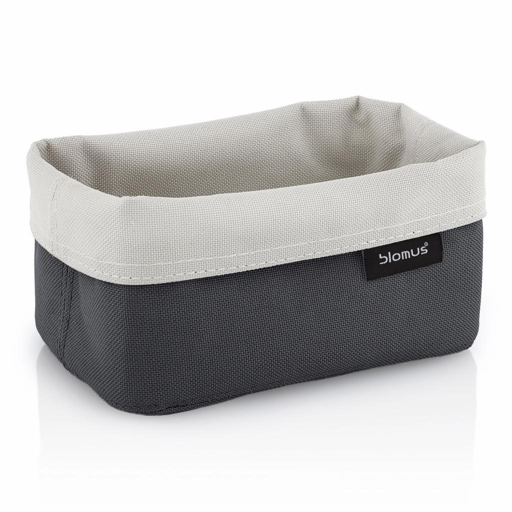 Produktové foto Oboustranný košík na kosmetické potřeby střední ARA pískový/antracitový Blomus