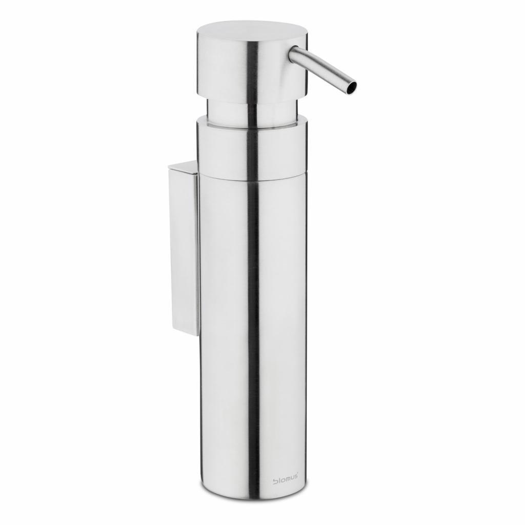 Produktové foto Nástěnný dávkovač tekutého mýdla matný nerez 100 ml NEXIO Blomus