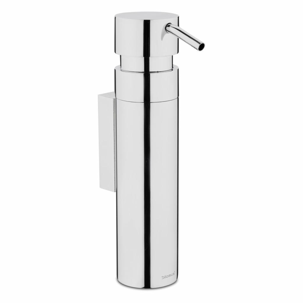 Produktové foto Nástěnný dávkovač tekutého mýdla NEXIO leštěný nerez 100 ml Blomus