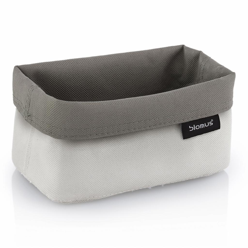 Produktové foto Oboustranný košík na kosmetické potřeby ARA střední pískový/šedohnědý Blomus