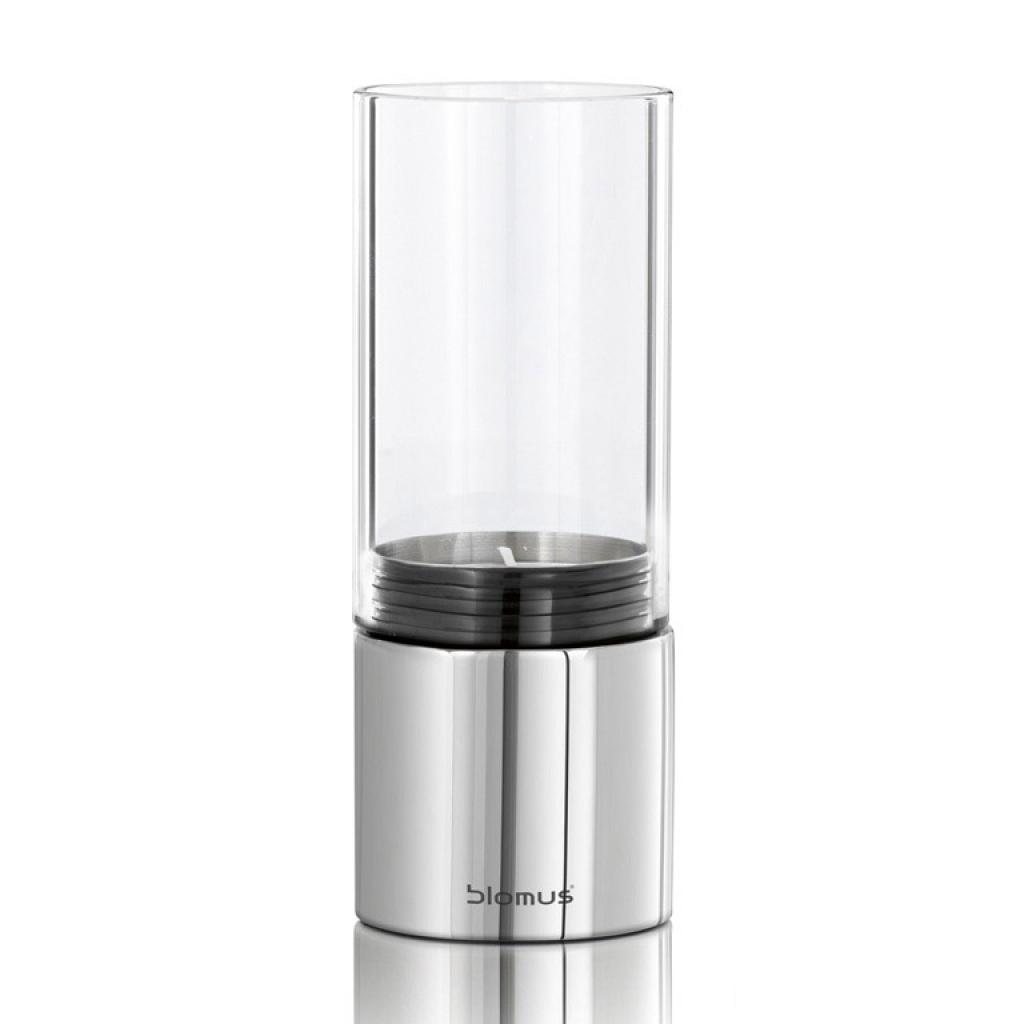 Produktové foto Svícen sklo FARO leštěný nerez O 7 cm Blomus
