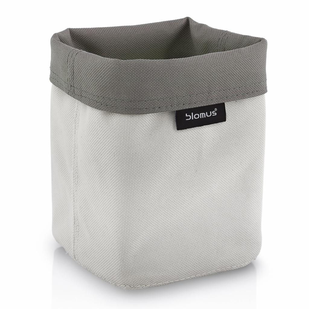 Produktové foto Oboustranný košík na kosmetické potřeby ARA malý pískový/šedohnědý Blomus