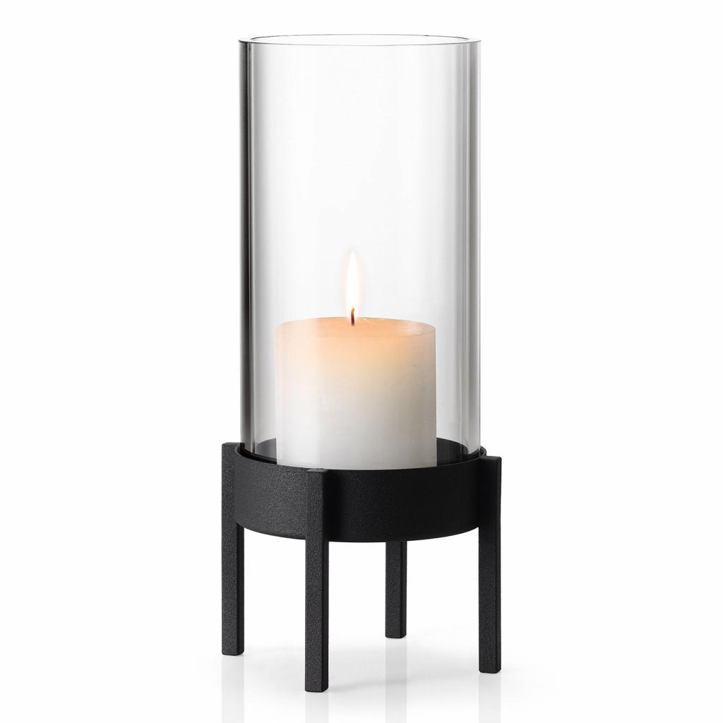 Produktové foto Stolní svícen v nordickém stylu NERO malý 26 cm Blomus