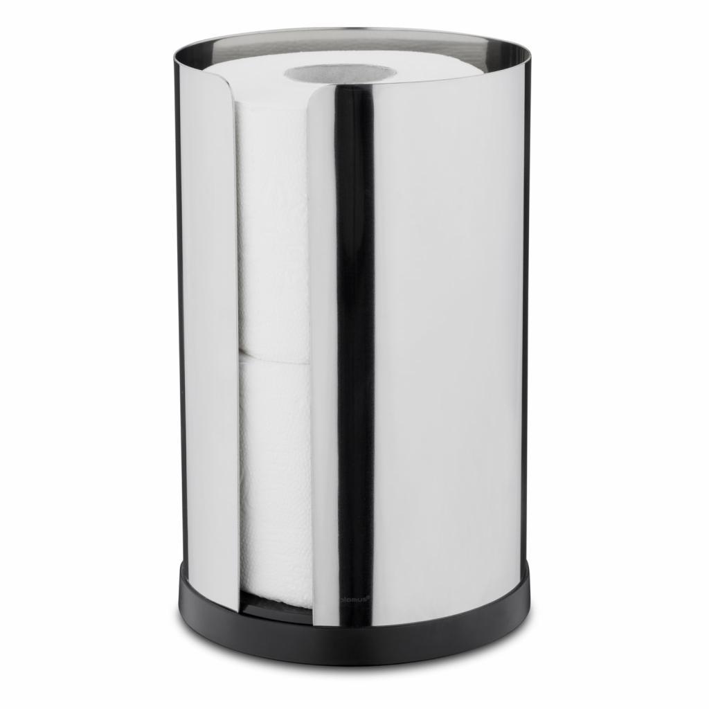 Produktové foto Zásobník na 2 role toaletního papíru NEXIO leštěný nerez Blomus