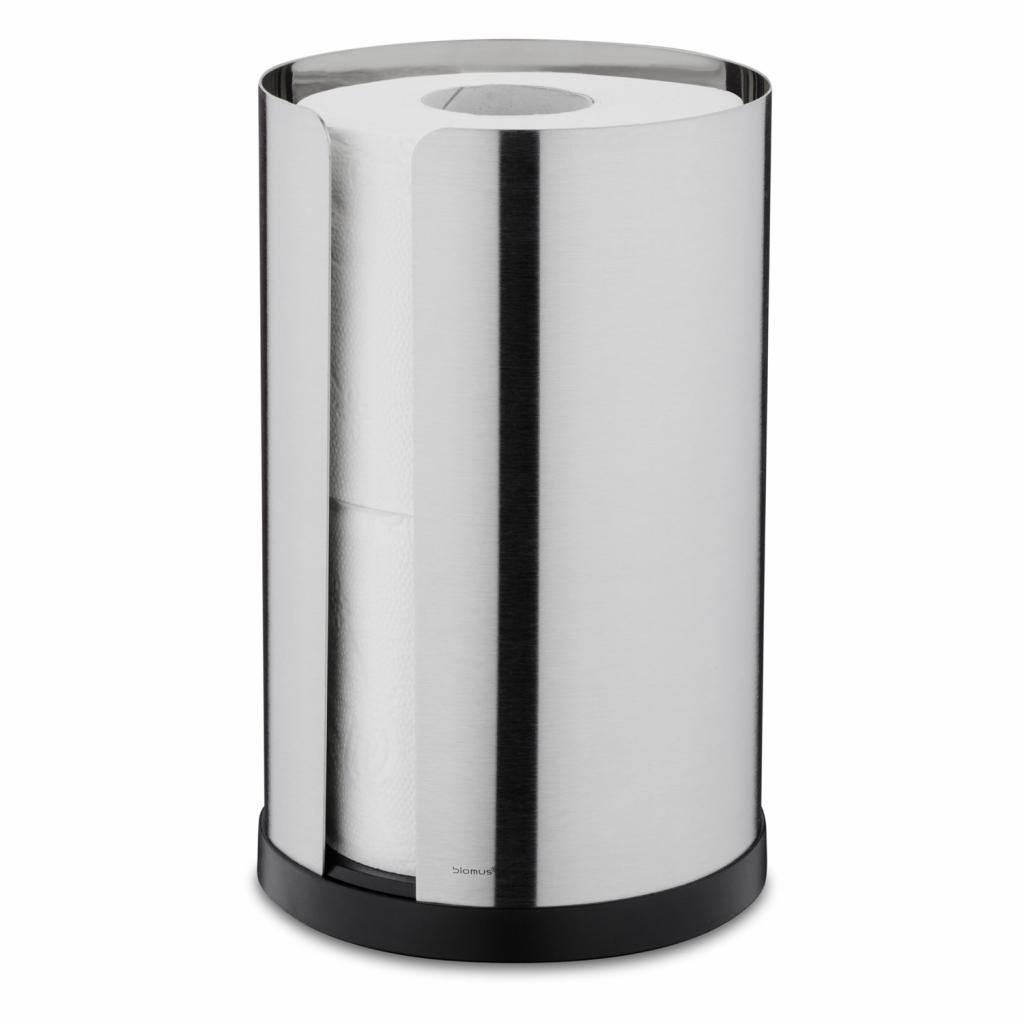 Produktové foto Zásobník na toaletní papír NEXIO matný nerez Blomus