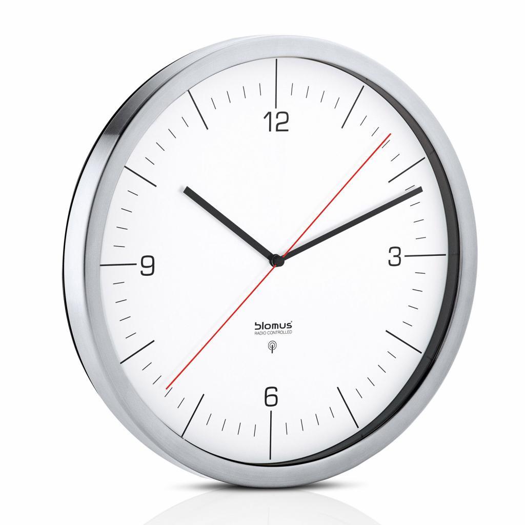 Produktové foto Nástěnné hodiny CRONO bílé O 30,5 cm Blomus