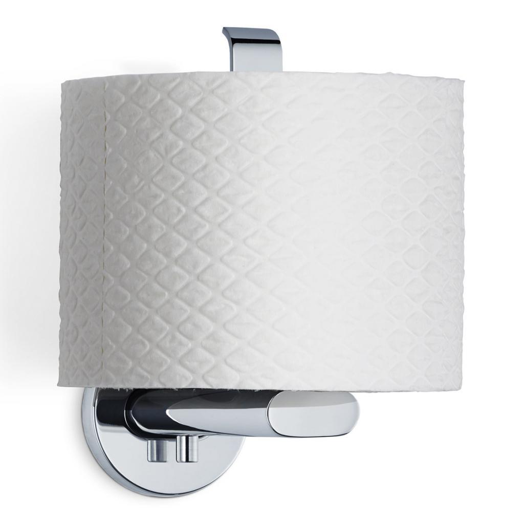 Produktové foto Držák toaletního papíru AREO svislý leštěný nerez Blomus