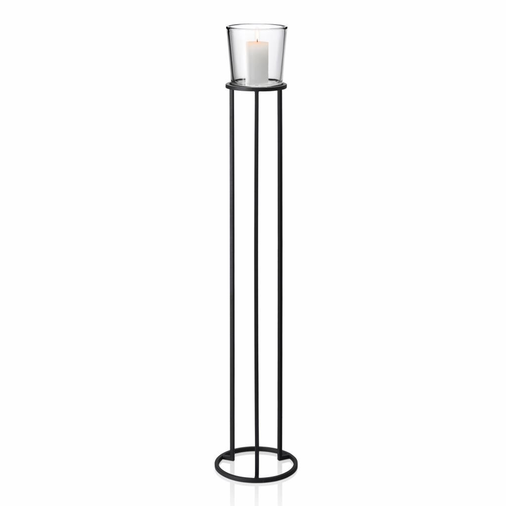 Produktové foto Stojací kruhový svícen v nordickém stylu NERO 138 cm Blomus