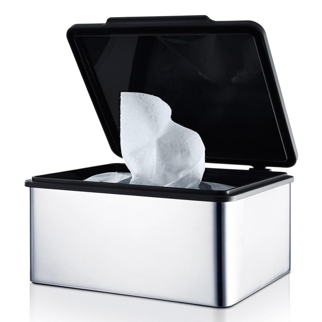 Produktové foto Box na vlhčené ubrousky MENOTO leštěný nerez Blomus