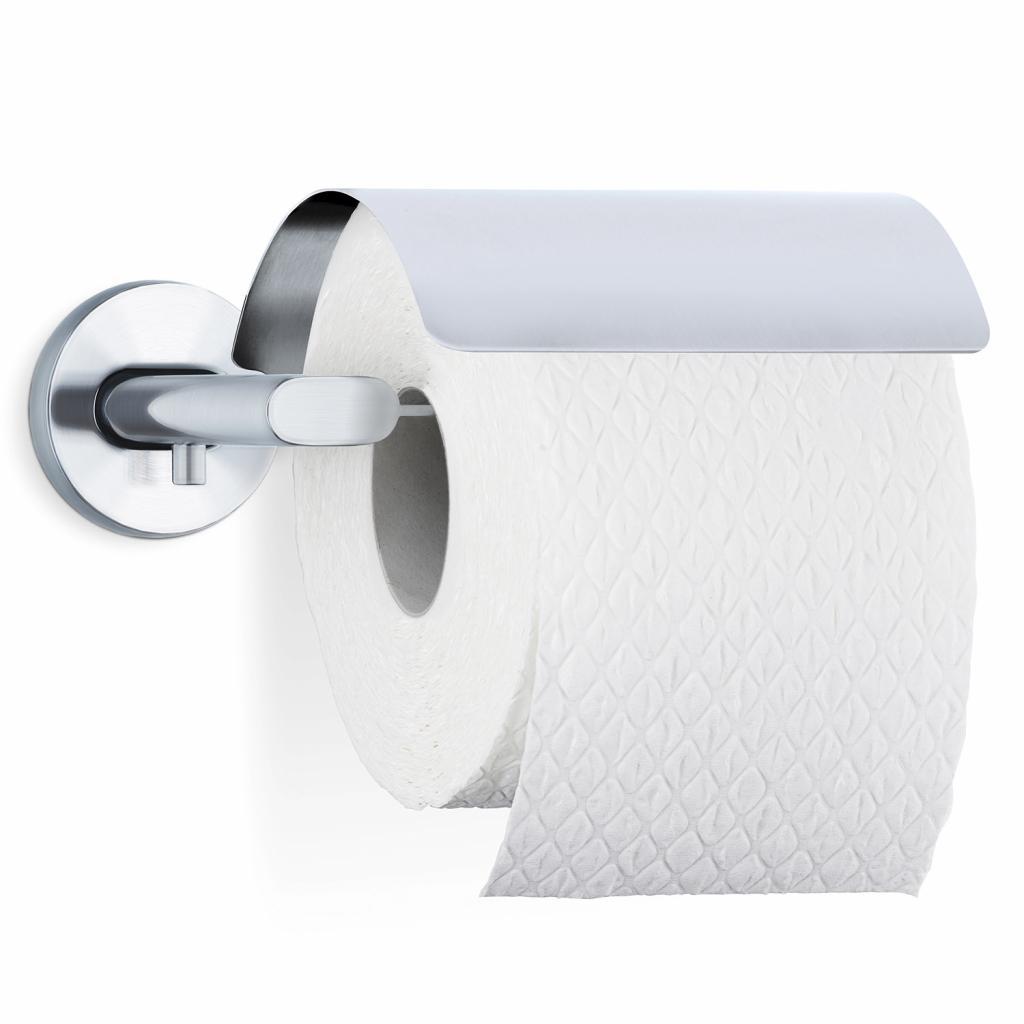 Produktové foto Držák toaletního papíru s krytem AREO matný nerez Blomus