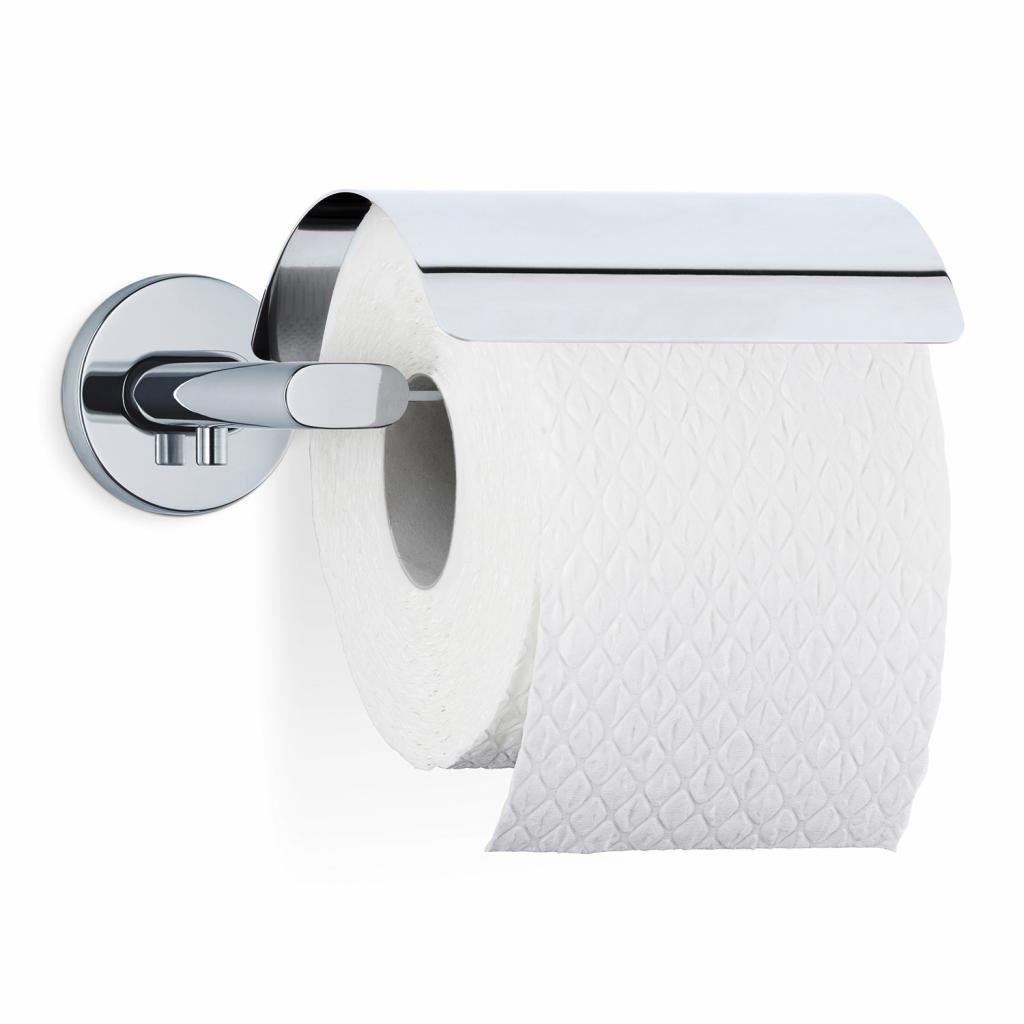 Produktové foto Držák toaletního papíru s krytem AREO leštěný nerez Blomus
