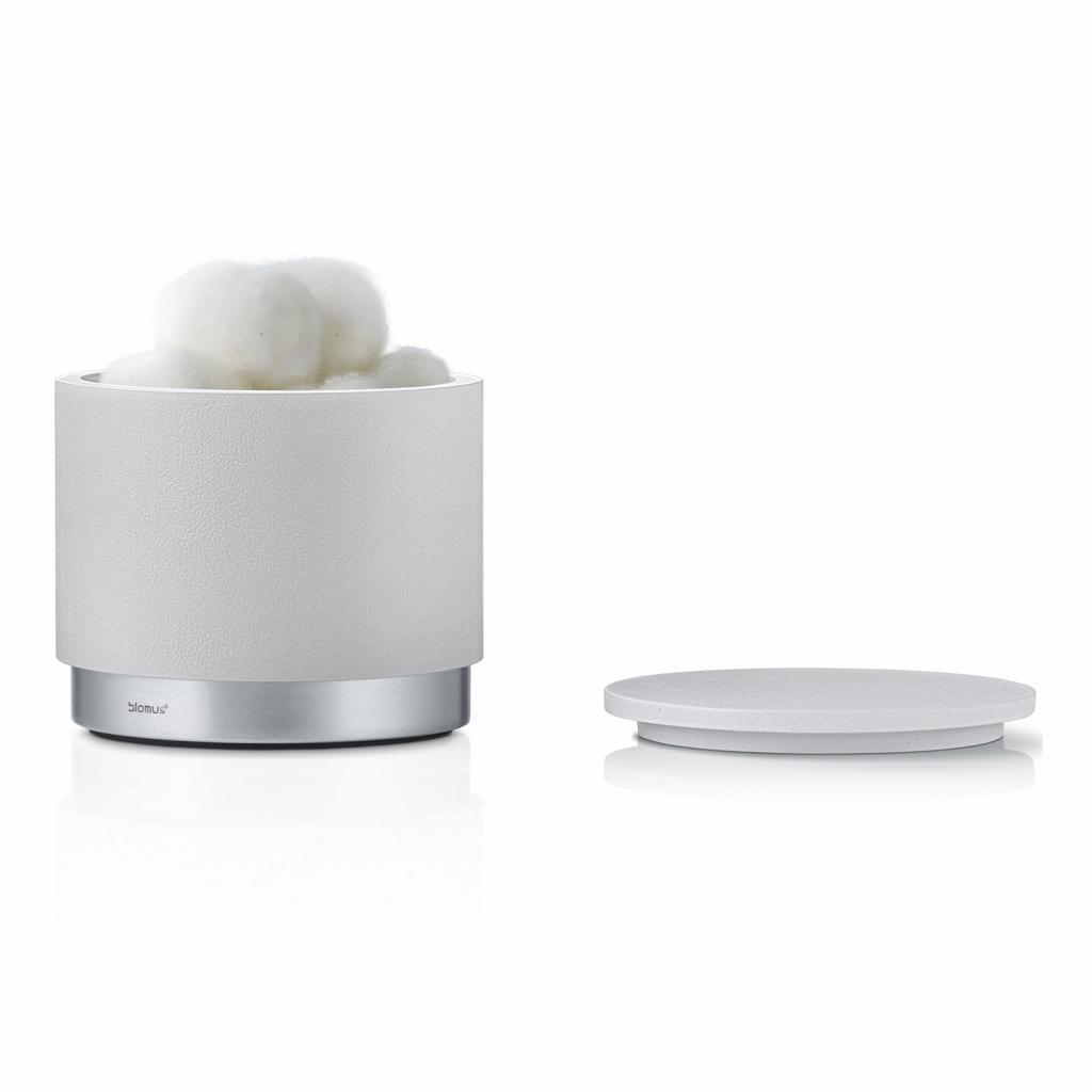 Produktové foto Úložný box na kosmetické potřeby ARA popelavě šedý Blomus