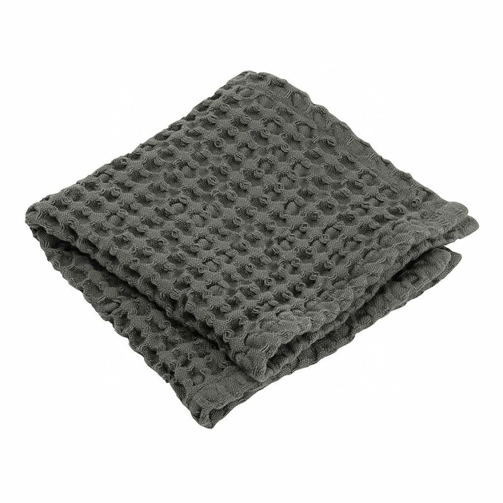 Produktové foto Ručník na ruce s vaflovým vzorem CARO khaki 30 x 30 cm Blomus