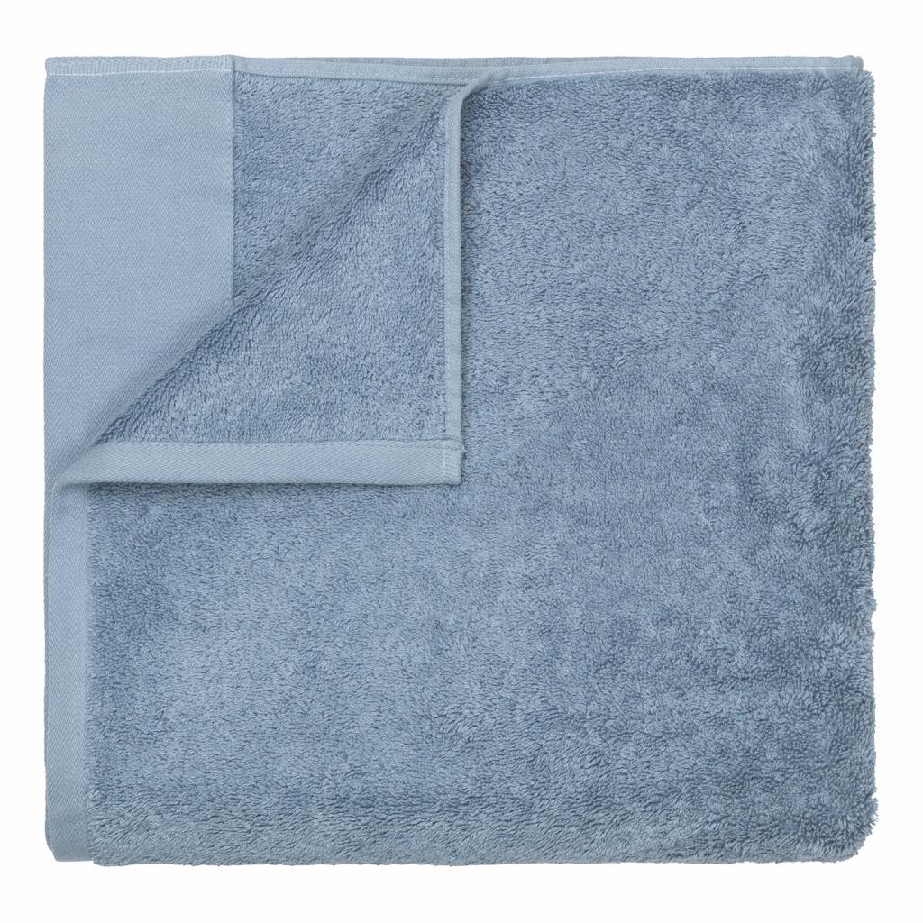 Produktové foto Osuška RIVA kouřově modrá 70 x 140 cm Blomus