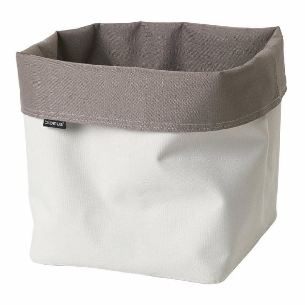 Produktové foto Oboustranný box ARA taupe/bílá Blomus